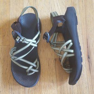 Chaco Double Strap Sandal Green Size 10